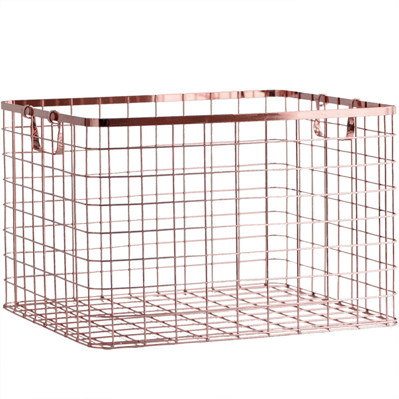 Square Copper Storage Basket - Staunton and Henry