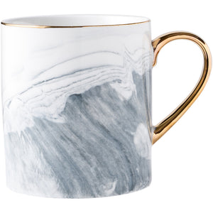 Marble and Gold Coffee Mug