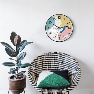 Modern Deco Wall Clock
