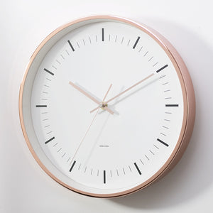Minimalist Nordic Copper Wall Clock - Staunton and Henry