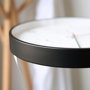 Nordic Clock with Temperature and Humidity