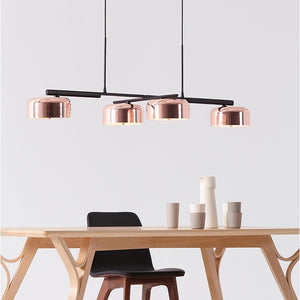 Modern Copper Island Pendant Light - Staunton and Henry