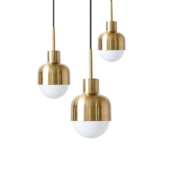 Modern Brass Glow Pendant Light - Staunton and Henry