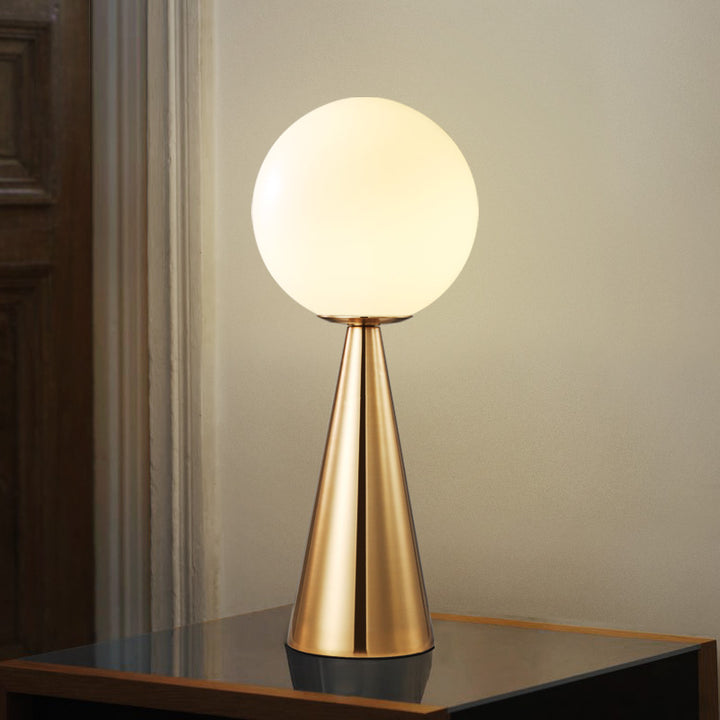 Future Modern Brass Table Lamp - Staunton and Henry