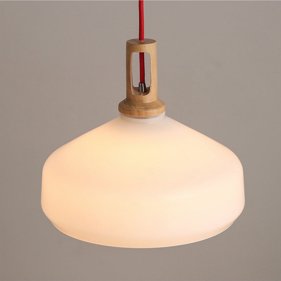 Frosted Beaker Pendant Light - Staunton and Henry