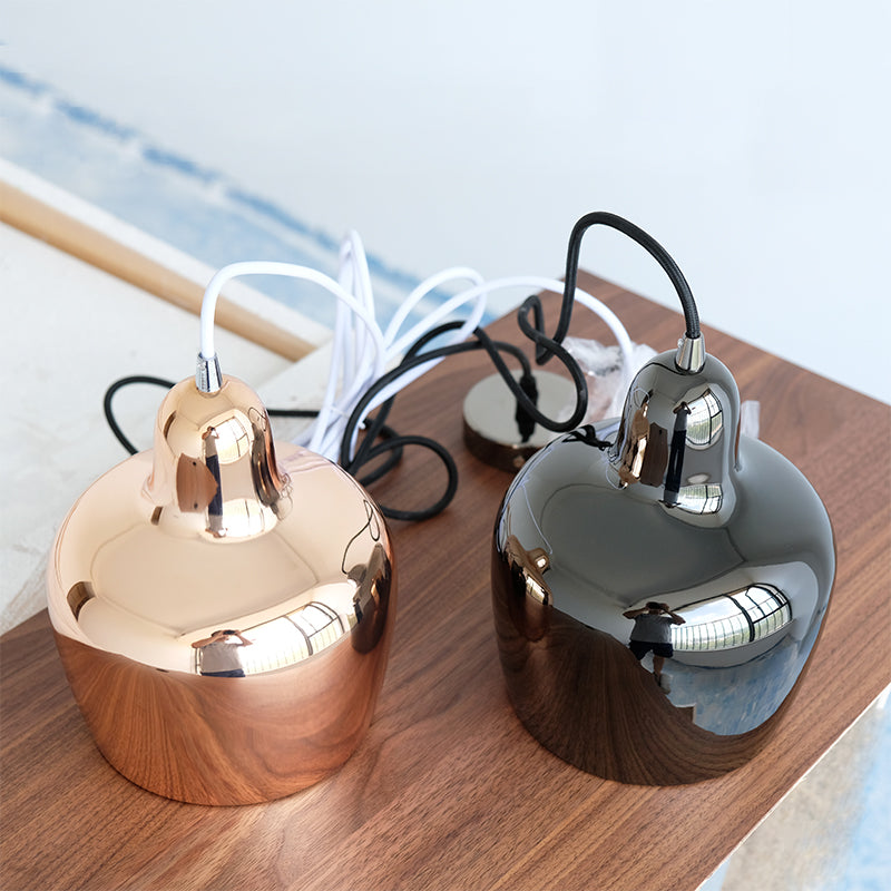 Cowbell Copper Pendant Light - Staunton and Henry