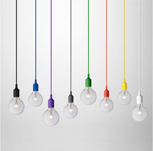 Colorful Globe Pendant Light