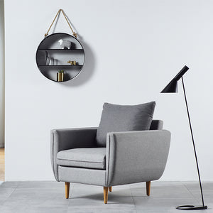 Round Hanging Wall Shelf - Staunton and Henry