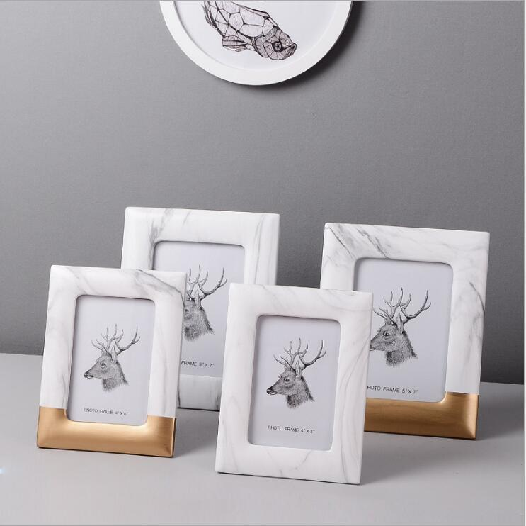 Modern Marble Picture Frame - Staunton and Henry