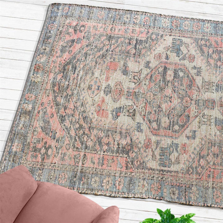 Ilder Distressed Tribal Rug - Staunton and Henry