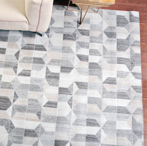 Nian Beige and Grey Rug - Staunton and Henry