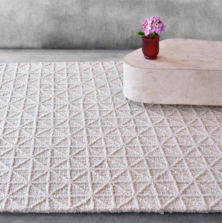 Abala off White Wool Rug - Staunton and Henry