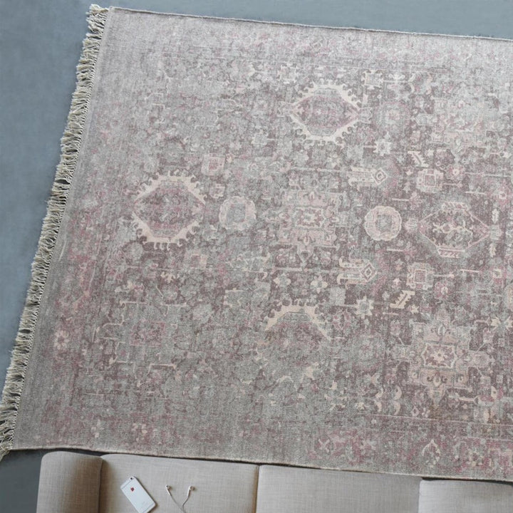 Vikram Distressed Modern Persian Rug - Staunton and Henry