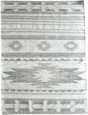 Arva Cream and Beige Modern Kilim Rug - Staunton and Henry