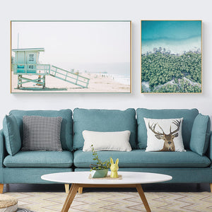 Coastal Wall Art With Frame - Matching Set of 2 - Staunton and Henry