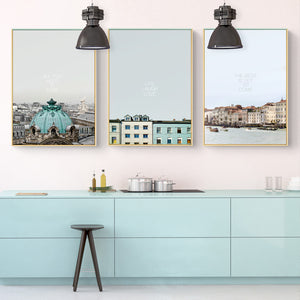 Love to Travel Wall Art With Frame - Staunton and Henry