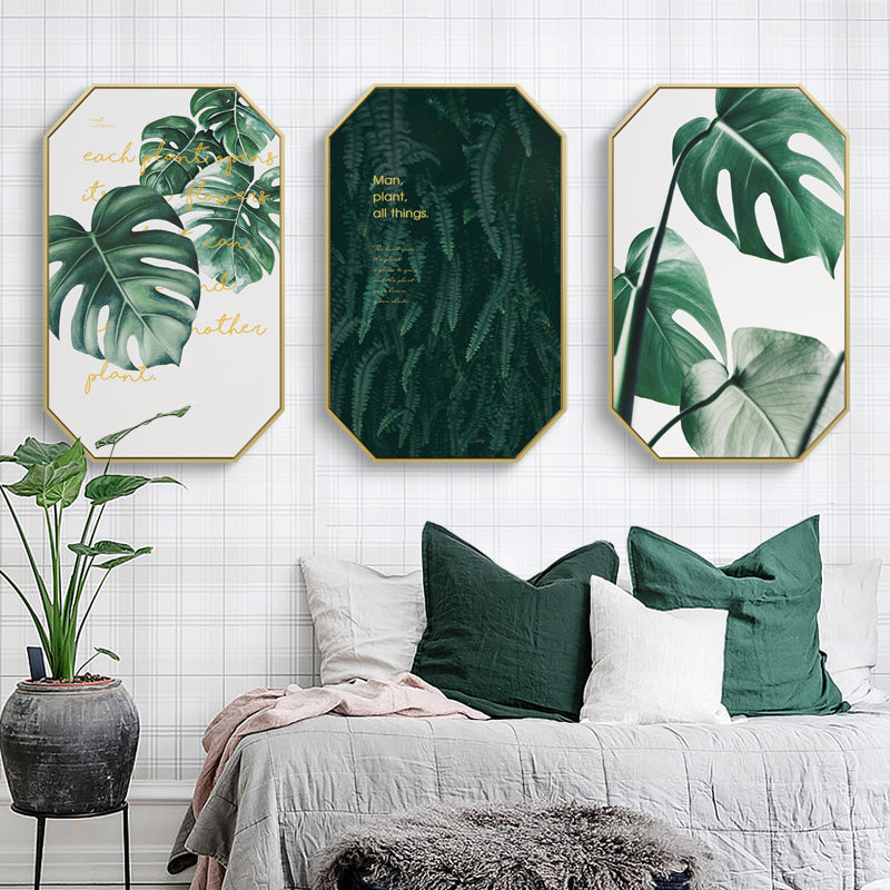 Inspirational Tropical Wall Art With Frame - Staunton and Henry