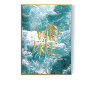 Ocean Wall Art With Frame - Staunton and Henry