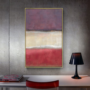 Colorful Abstract Wall Art With Frame - Staunton and Henry