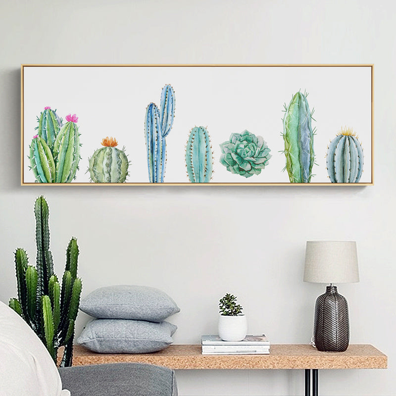 Green Leaf Wall Art With Frame - Staunton and Henry