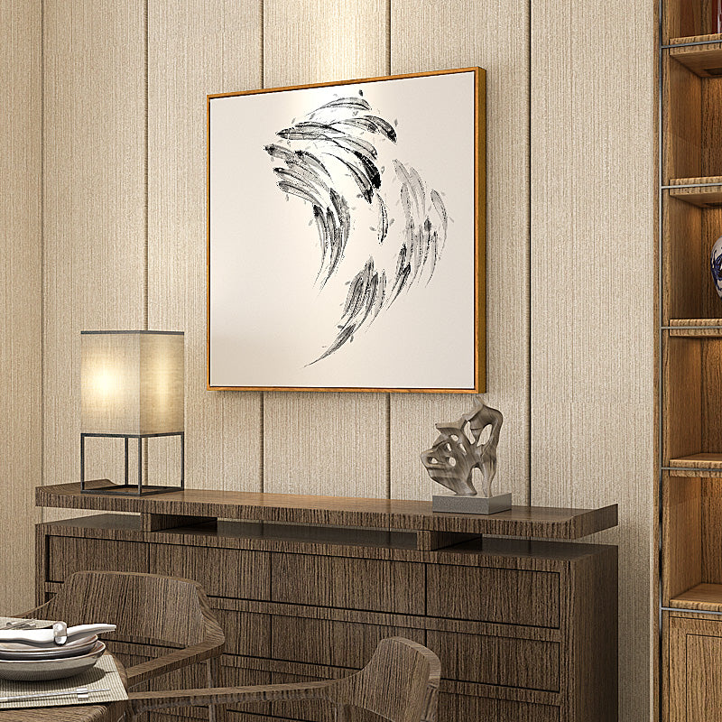 Japanese Koi Fish Wall Art With Frame - Staunton and Henry