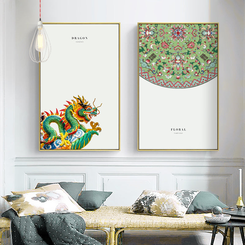 Chinese Wall Art With Frame - Staunton and Henry