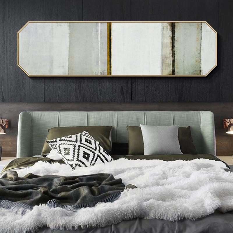 Beige Abstract Wall Art With Frame - Staunton and Henry