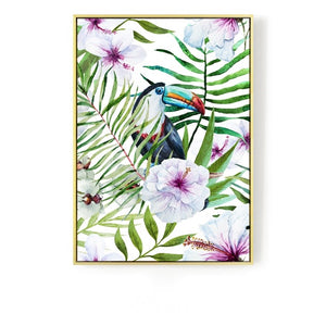 Tropical Wall Art With Frame - Staunton and Henry