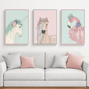 Girls Room Wall Art With Frame - Staunton and Henry