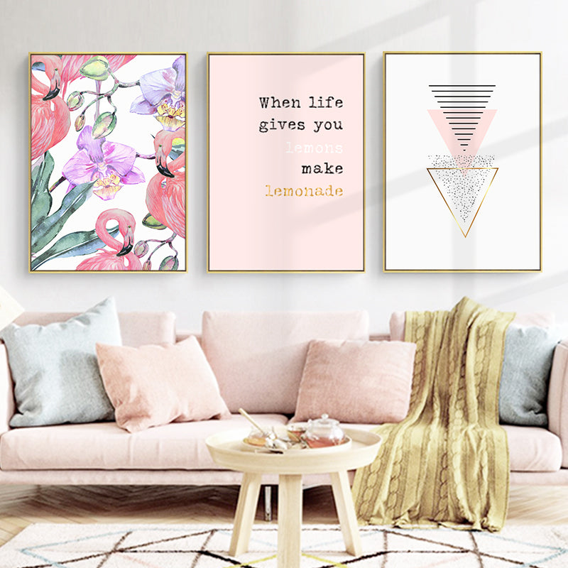 Framed Flamingo Wall Art - Staunton and Henry
