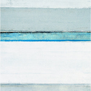 Coastal Blue Wall Art With Frame - Staunton and Henry