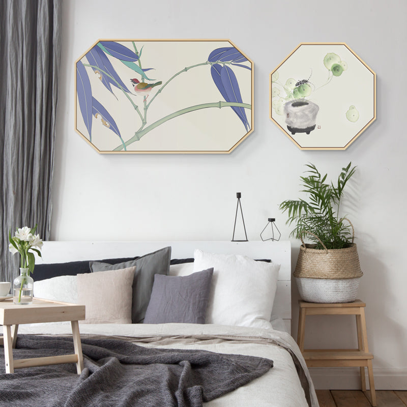 Oriental Birds Wall Art - Matching Set of 2 - Staunton and Henry