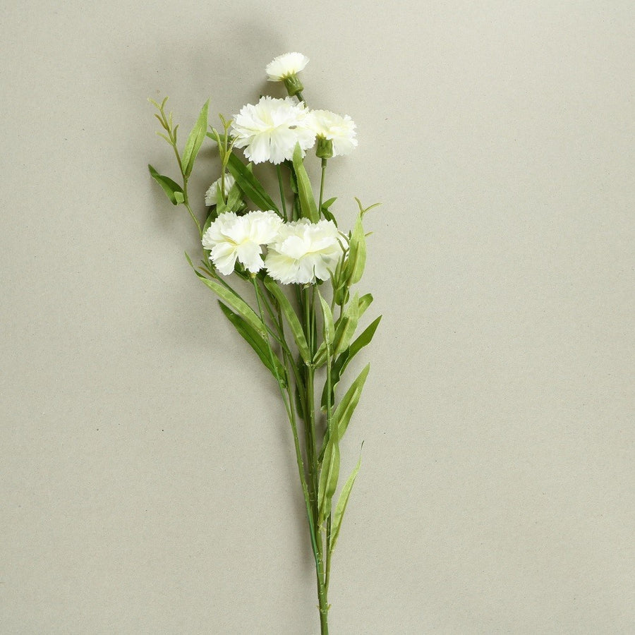 Carnation Silk Flowers - Set of 3 Stems - Staunton and Henry