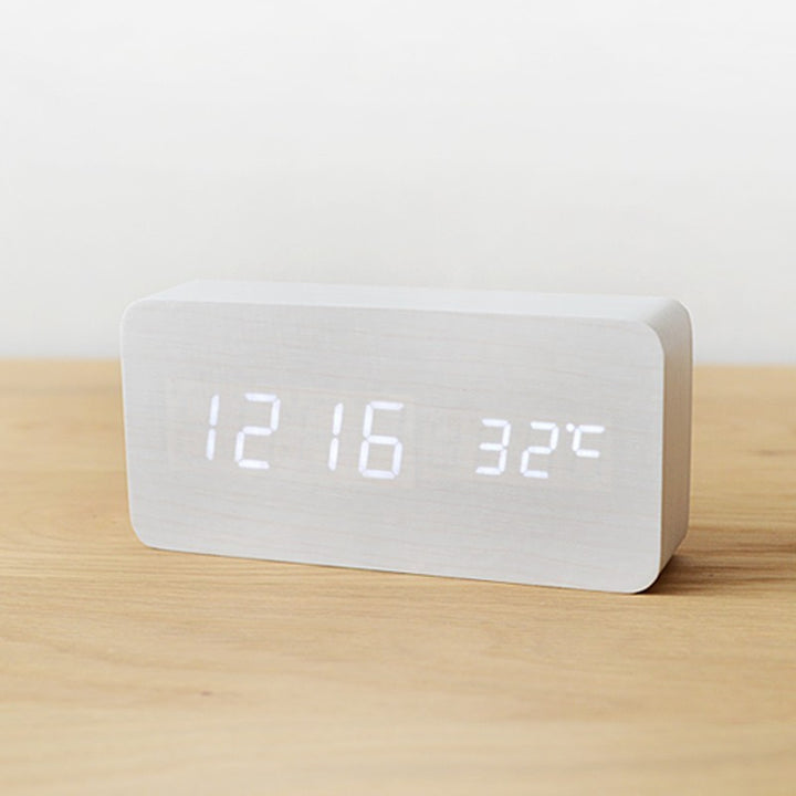 Block Clock Digital Alarm & Temperature - Staunton and Henry