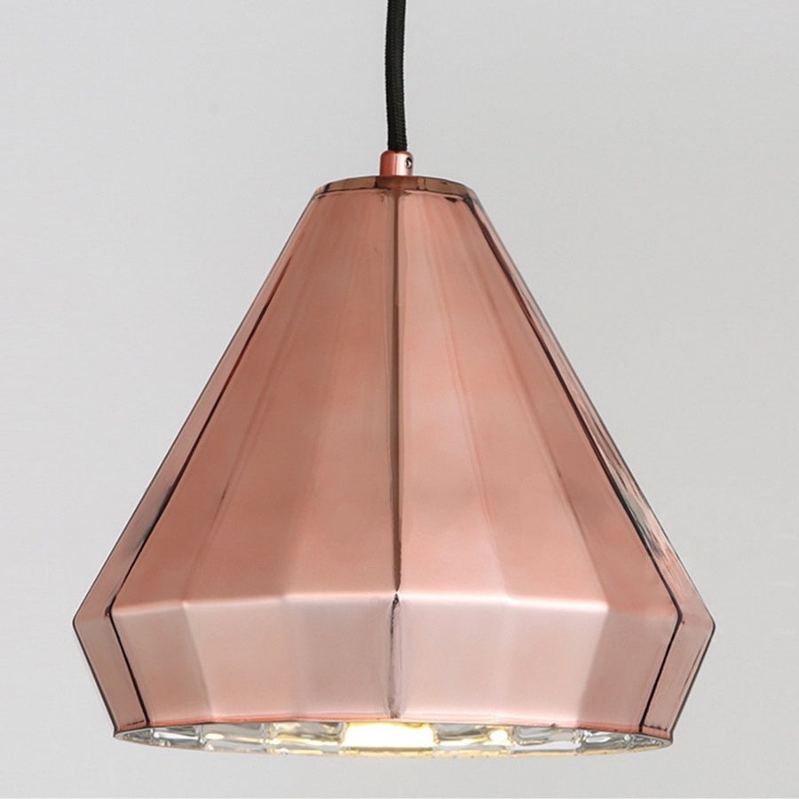 Geometric Copper Pendant Light - Staunton and Henry
