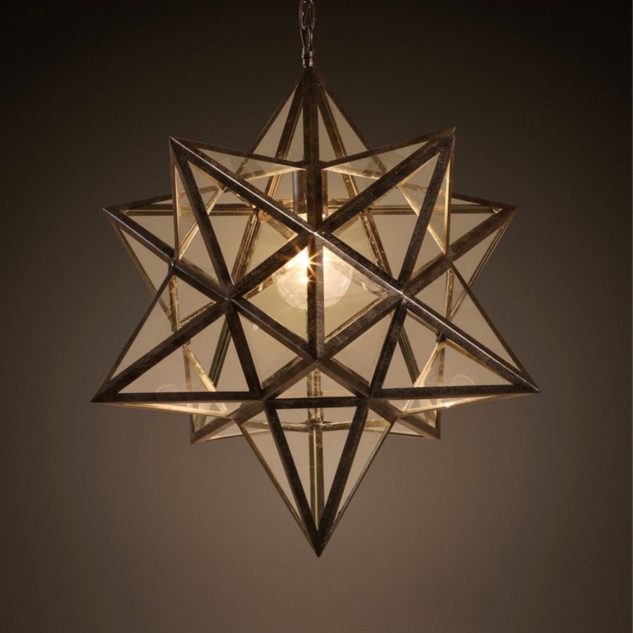 Star Pendant Chandelier - Staunton and Henry