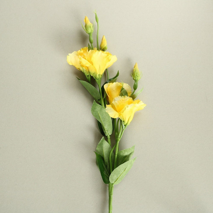 Yellow Rose Silk Flowers - Set of 3 Stems - Staunton and Henry