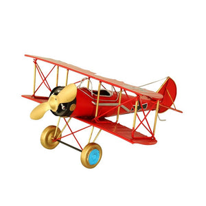 Hand Made Decorative Vintage Style Toy Plane