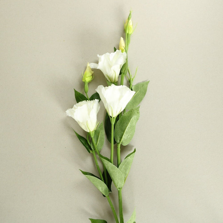White Rose Silk Flowers - Set of 3 Stems - Staunton and Henry