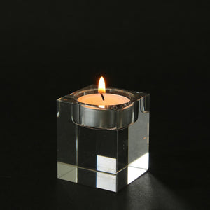 Cubik Glass Candle Holders