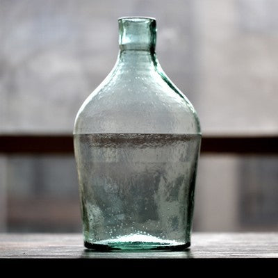 Vintage Glass Bottle Vases - Staunton and Henry