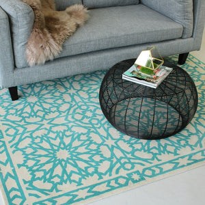 Black Wire Mesh Coffee Table - Staunton and Henry
