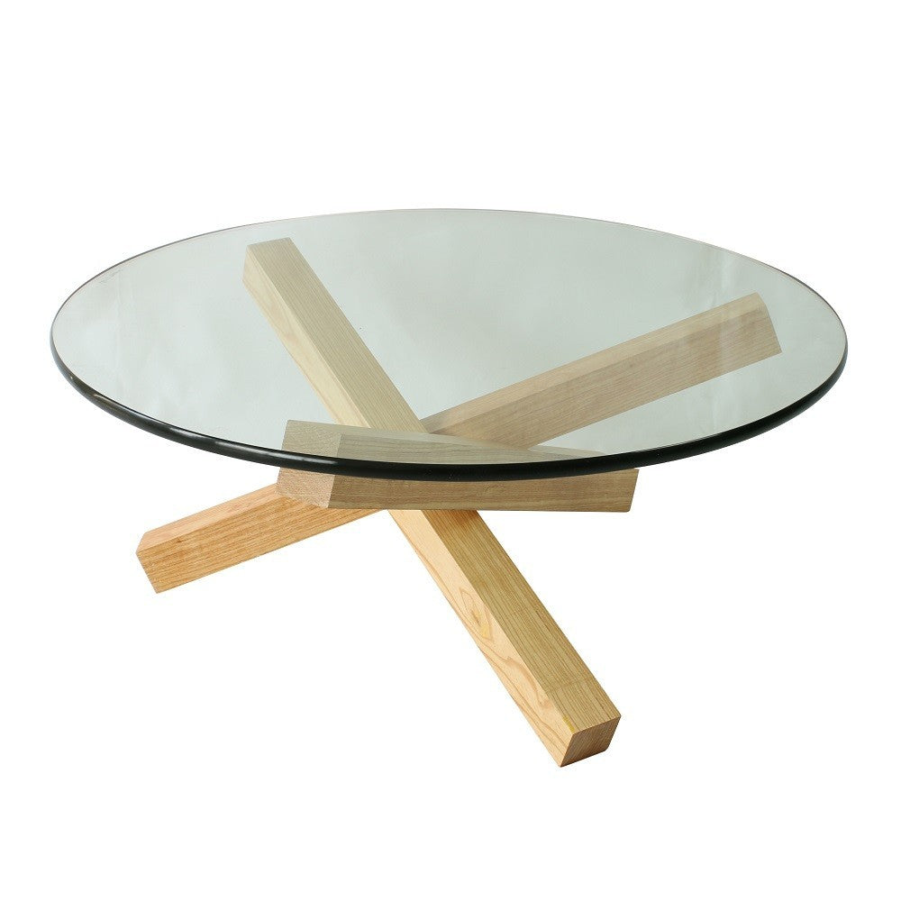 Solid Wood & Glass Coffee Table Hong Kong At 20% Off