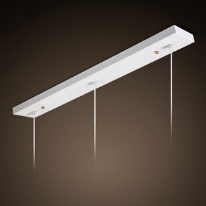 White Multi Ceiling Light Mount Cover