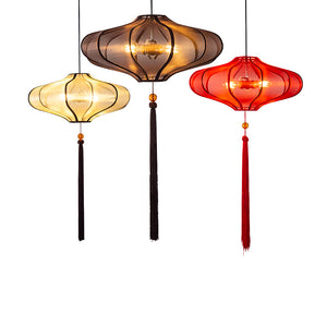 Chinese Lantern Pendant Light - Staunton and Henry