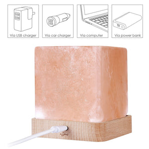 Square Himalayan Salt Lamp - Staunton and Henry