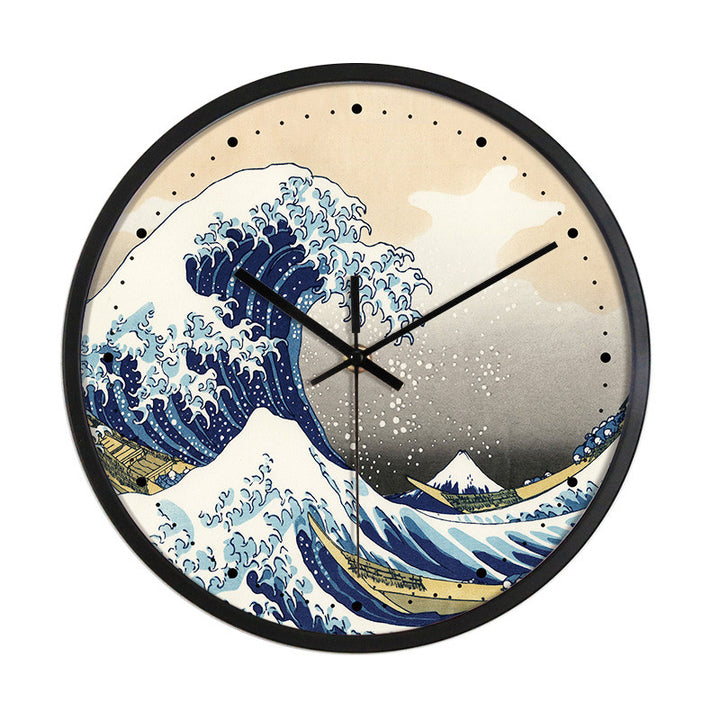 Kanagawa Wave Wall Clock - Staunton and Henry