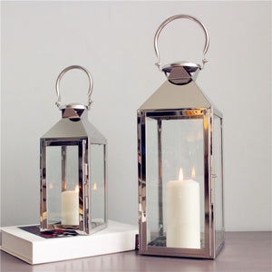 Classic Metal Lantern with Handle