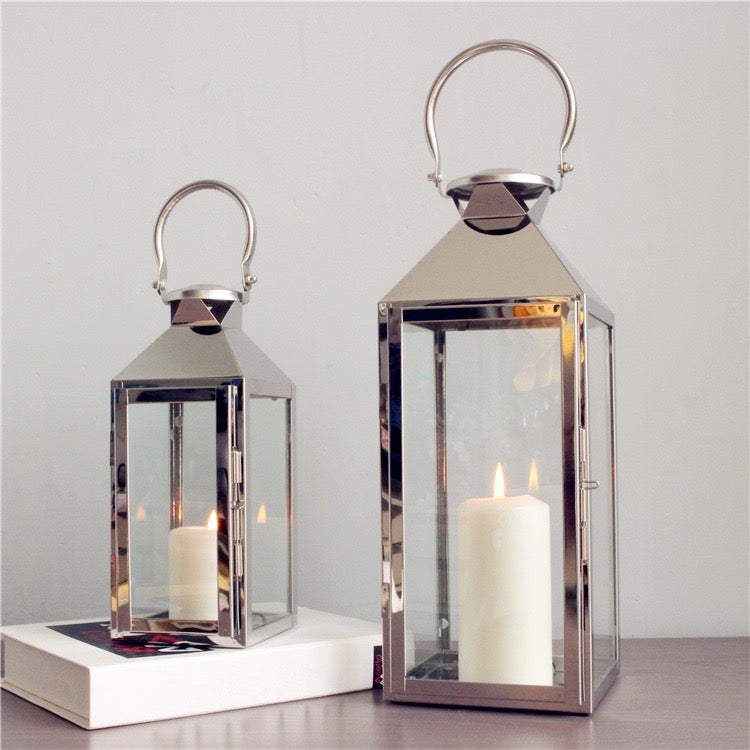 Classic Metal Lantern with Handle - Staunton and Henry