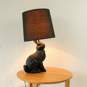 Mooi Style Black Rabbit Table Lamp - Staunton and Henry